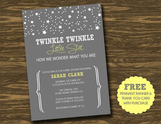 star baby showers baby shower ideas twinkle twinkle baby shower