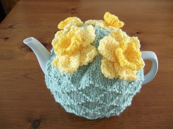 Ravelry: ShannonBayKnits' Longing for Spring Tea Cozy: