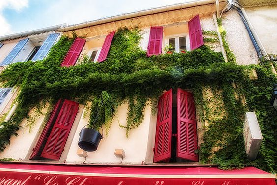A House In The South Of France Print by Nomad Art And  Design