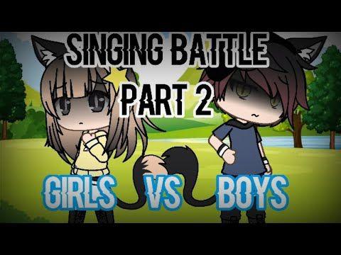 Girls Vs Boys Singing Battle Part 2 Finally Youtube Singing Song Artists Battle