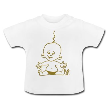 Baby T-Shirt. #Spreadshirt #Cardvibes #Tekenaartje #cute