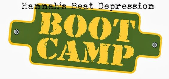 Hannah's Beat Depression Boot Camp: My plan to take each day at a time and make goals to keep me productive and beat depression!