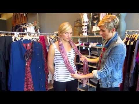 This is a suuuuuper helpful video teaching us how to tie the most trendy of scarves. Thank you DahlStyle!