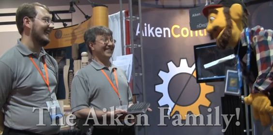 Aiken Controls and the Aiken Family at the IWF Atlanta! What a great family and fantastic inventors! www.mydg.tv