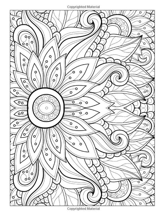 To print this free coloring page «coloring-adult-flower-with-many ...