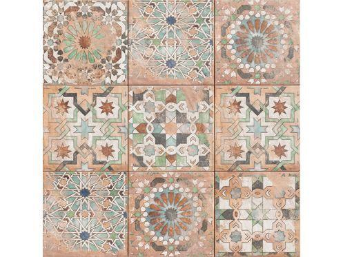 Sforza 20x20 Cm Carrelage Faience Au Style Oriental Mauresque Ou Zellige Zellige Style Oriental Idee Salle De Bain