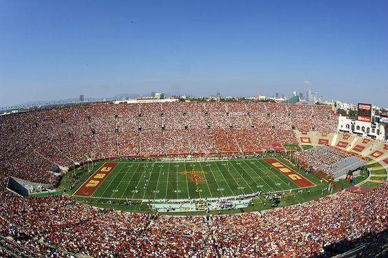 Los Angeles Memorial Coliseum by USC | University of Southern California, via Flickr