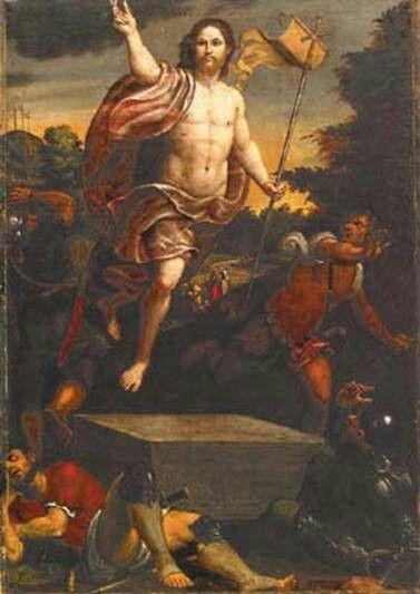 Pomponio Amalteo, Resurrezione di Cristo