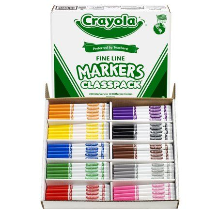 Arts Crafts Sewing Markers Crayola Art Marker Art