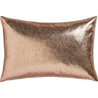 """CB2 - January Catalog 2016 - Rove 18""""x12"""" Pillow With Feather-down Insert"""
