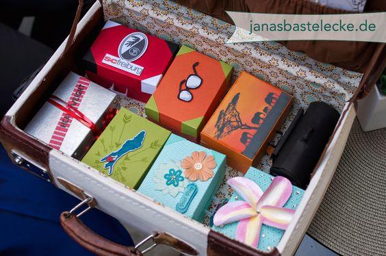 Gemeinschafts-Geldgeschenk für die Hochzeitsreise  janasbastelecke ...