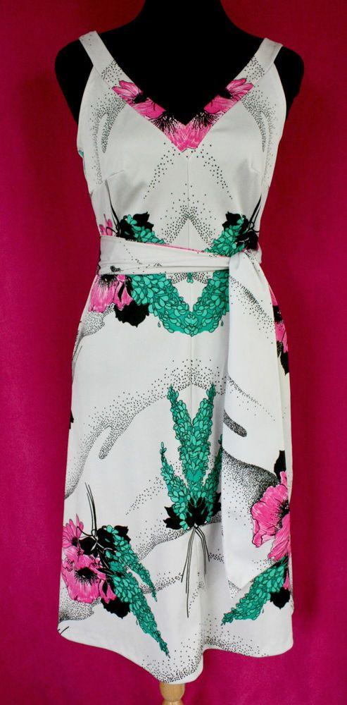 Get it at Bad Reputation! #Vintage1970s #Engelmans #Pink, Gray & #GreenFloral Print #Sundress - Size 12  #Paganne #dress #Summer #Spring #PinkFlowers #vintageDress #VintageSundress