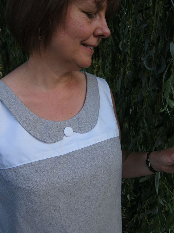 Herenoverhemden recyclen... Knopendeel achterkant van voorpand halen!