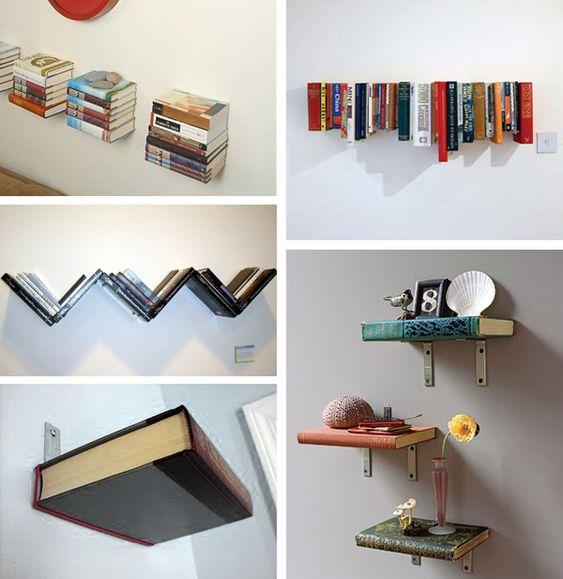 book hanging ideas