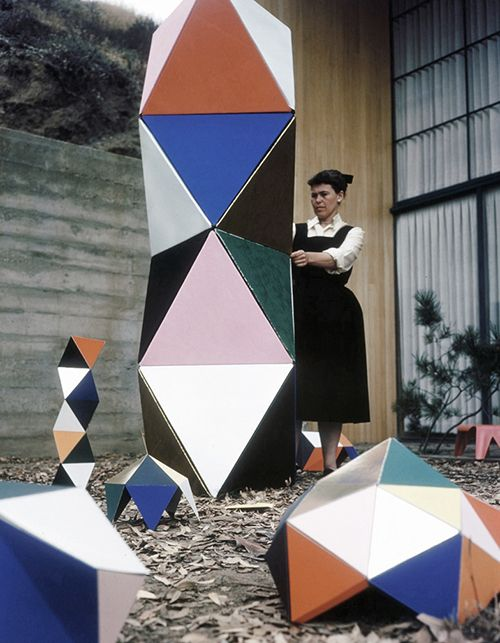 """the-eternal-moonshine: """" Ray Eames, Toy Sculpture, 1951 """""""