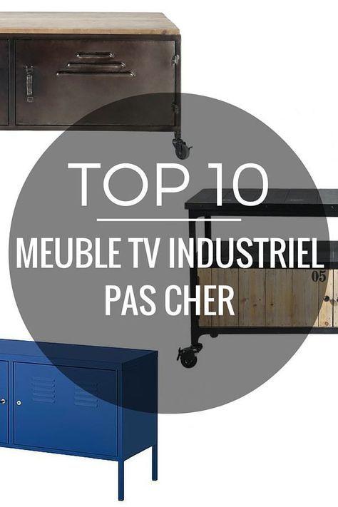 Meuble Tv Industriel Pas Cher Le Top10 Meuble Tv Industriel Meuble Tele Industriel Meuble Tv