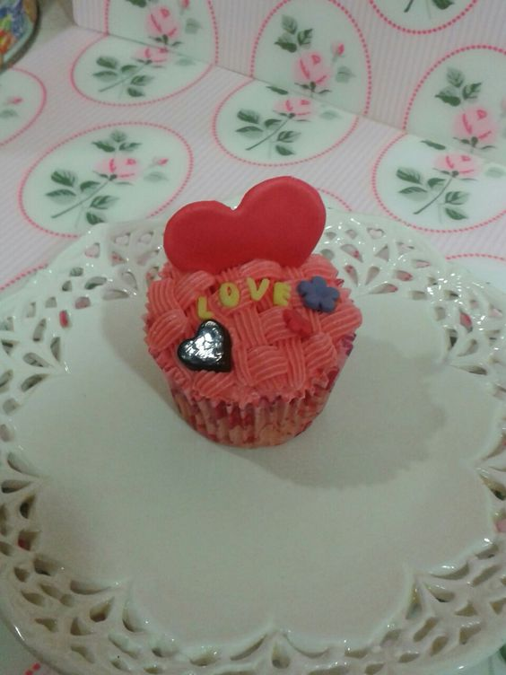 Mini cupcake San Valentín 2