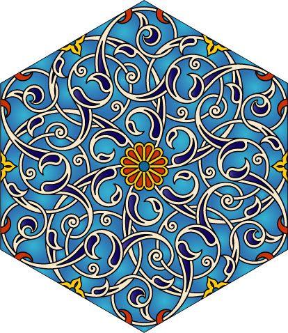 hexagonal floral design.   p   pinterest   mandalas, style and