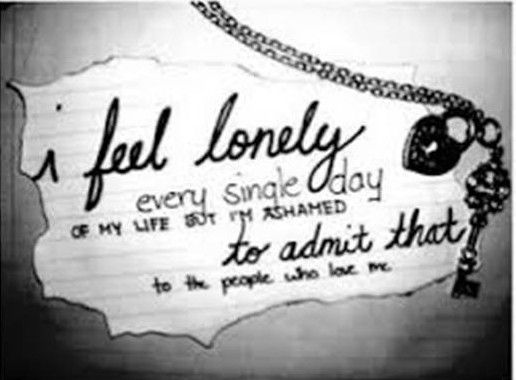 I'm surrounded by people and am at my loneliest when they are close.... beautiful solitude return to me, swallow me whole and save me from feeling
