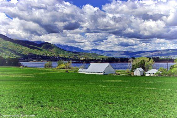 Lakeside Barn Near Pineview Reservoir Huntsville Utah