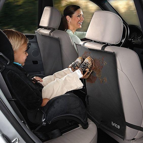Car Kick Mats Seat Back Protectors