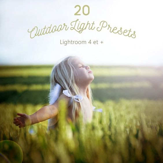 Pack 20 LR Presets Outdoor Light by Presets Light Shop on @Graphicsauthor