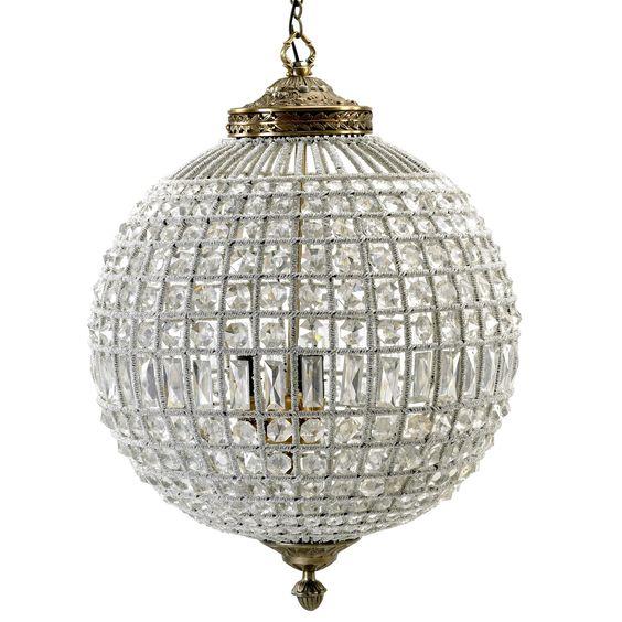Crystal lamp taklampa - Large från Nordal hos ConfidentLiving.se ...