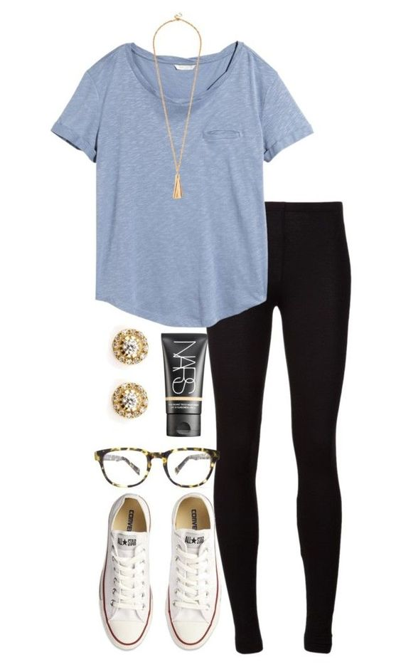 """secrets tag!"" by alexisfloyd ❤ liked on Polyvore featuring Splendid, H&M, Converse, Warby Parker, Ileana Makri and NARS Cosmetics:"