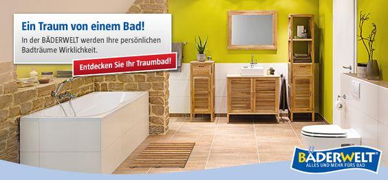 Traumbäder BAUHAUS Bad \/ WC NEU Pinterest Bauhaus - badezimmer bauhaus