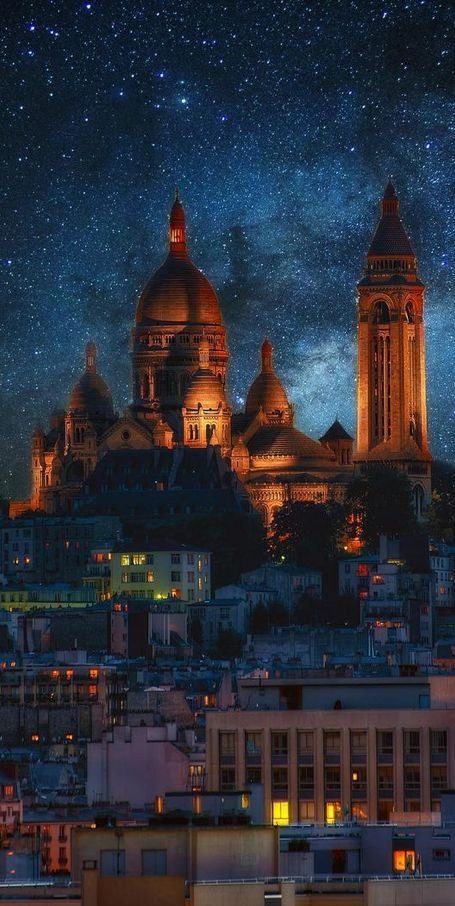 Sacre Coeur ~ Montmartre, Paris, France