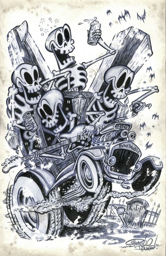 """Bonemobile"" by Shawn Dickinson"