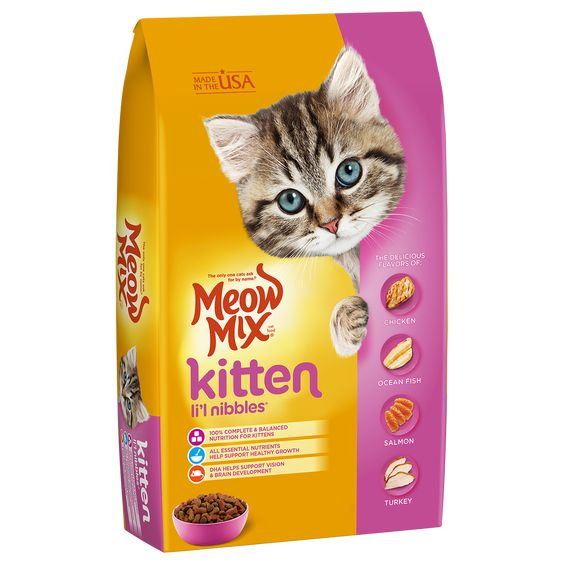 Kitten Li L Nibbles Kitten Food Dry Cat Food Homemade Cat Food
