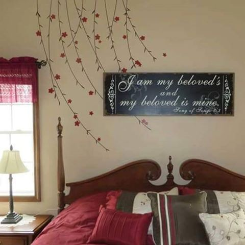 Beautiful Bedroom Expressions Coupons : Lovely bedroom!! The vines are beautifUL! #uppercaseliving #decor8life