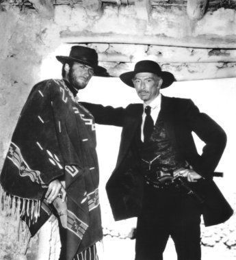 Clint Eastwood - Clint with Lee Van Cleef