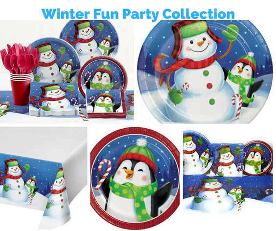 Winter Fun Party Banner