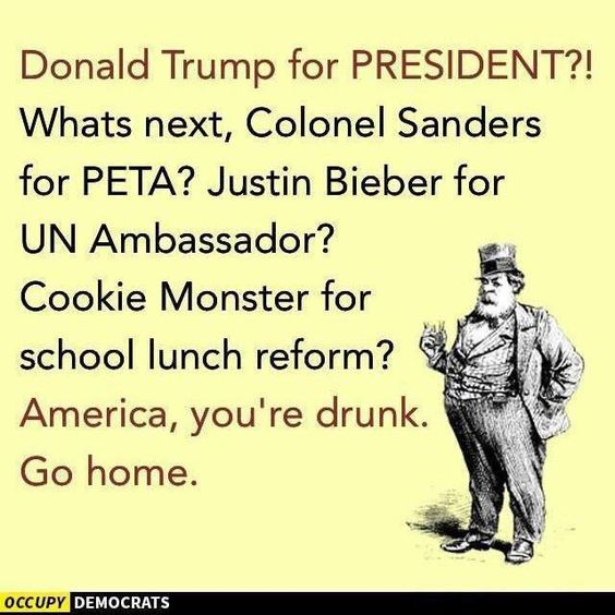 Funny Donald Trump Memes and Viral Images: Donald Trump for President?