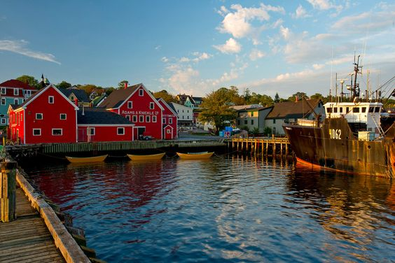 Lunenburg, Nova Scotia. [from the NY Times, photo by David Reyno]