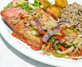 Sun caribbean food and tropical on pinterest for Authentic caribbean cuisine