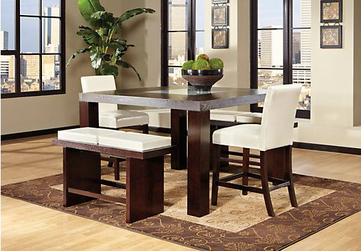 Shop for a Marsdale Ivory 5 Pc Dining Room at Rooms To Go. Find ...