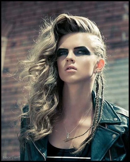 Erstaunlich Frisuren Frauen Punk Viking Hairstyles Female
