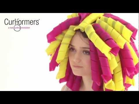 Step-by-step -- how to apply Curlformers to your own hair. I need to get some of these.