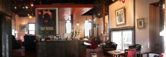 横浜の隠れ家カフェギャラリー  ZAIM CAFE ANNEX