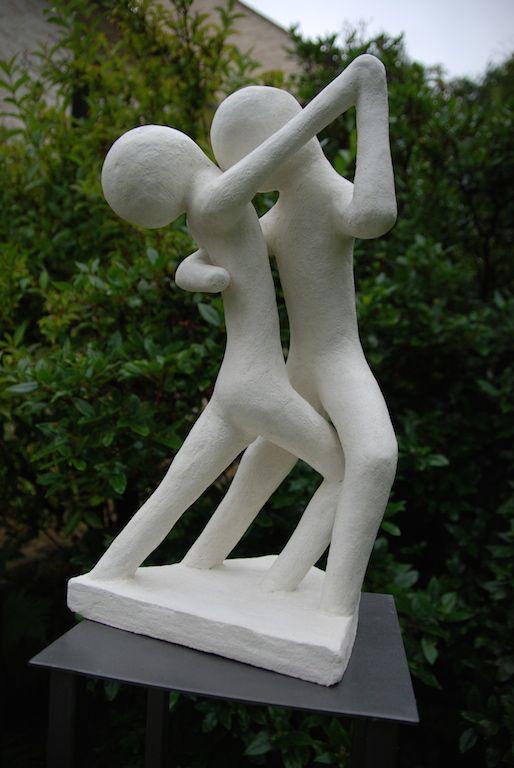 Sculptures en mortier - sculptures mosaique d'extérieur