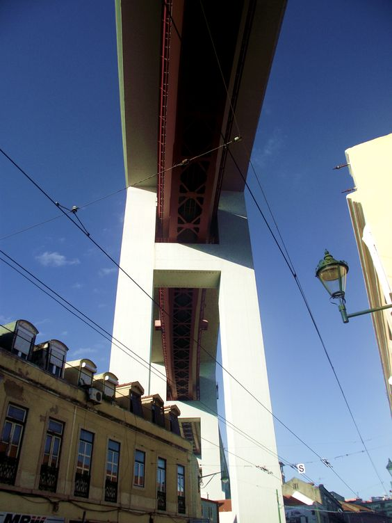 Ponte 25 de Abril , 25 de Abril Bridge , Lisbon , Portugal