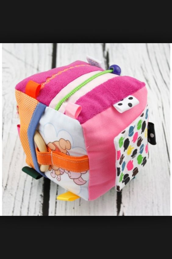 activity cube sew for baby quiet book pinterest. Black Bedroom Furniture Sets. Home Design Ideas
