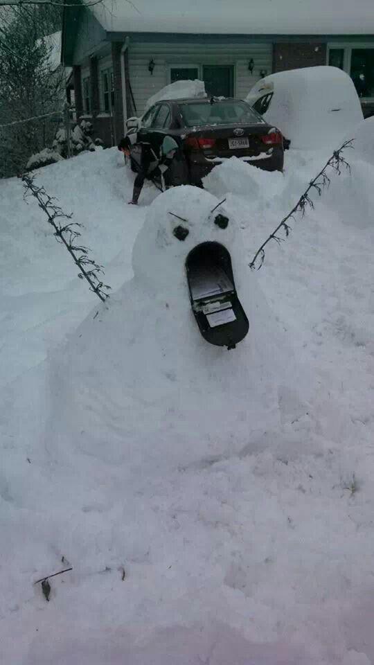 Snowmonsters