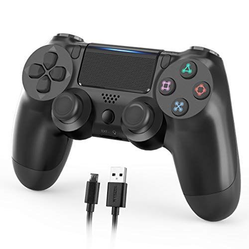 Wireless Controller For Ps4 1000mah Dual Shock Controller Gamepad Remote Joystick For Playstation 4 Pro Slim Ps5 Play Wireless Controller Dualshock Wireless