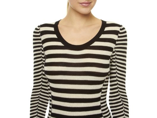 (1) Striped Cotton Scoop by LABEL+thread
