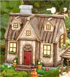 Woodland Fairy Garden Cottage
