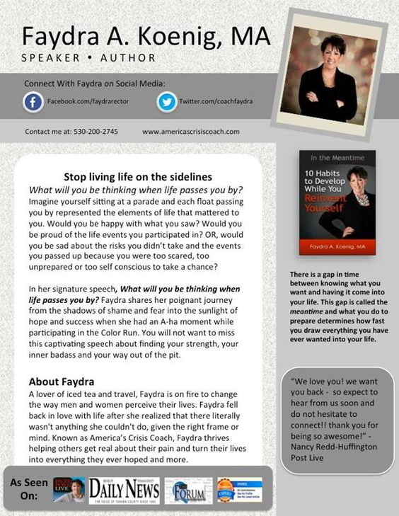 Speaker Bio One Sheet Template Keynote Templates One Pager - biography template